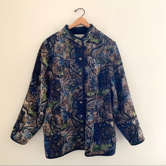 CJ Banks Jackets & Blazers - CJ Banks by Christopher and Banks Embroidered Coat